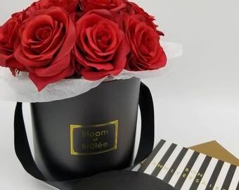 SALE!! red rose,rose arrangement,silk rose, silk bouqet,silk arrangement,silk flower,smell the roses, floral arrangement, centerpieces