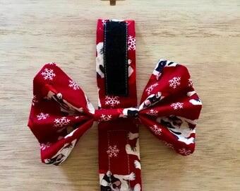 Christmas dog bow tie, dog bow tie, collar bow tie, christmas dog bow, dog collar bow, pet bow tie, christmas bow tie, pet collar bow tie