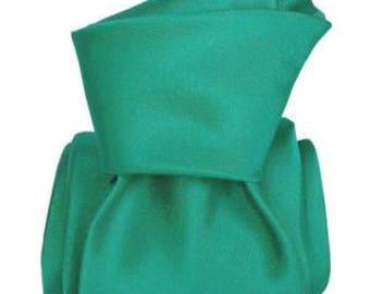 Aqua Green Italian Men's Tie, jacquard, green tie, aqua tie, turquoise tie, wedding tie, gift
