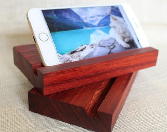 Handmade Wooden Iphone/Android/Ipad/Kindle Tech Stand