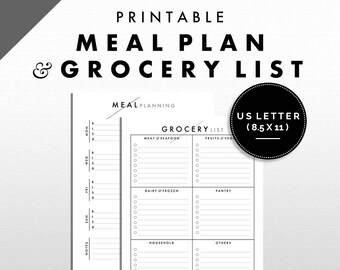 """Meal Planning and Grocery List 