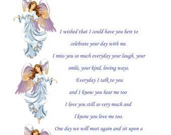 Mummy In Memory Mothers Day Card