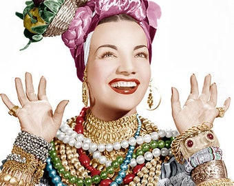 CARMEN MIRANDA PHOTO #7C