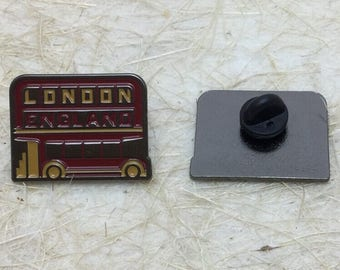 London England Travel Enamel Lapel Pin