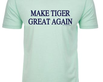 Make Tiger Great Again Fitted Crew