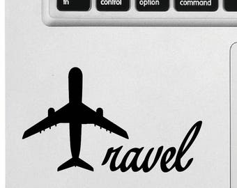Travel - Sticker, decal, decal Apple Macbook vinyl sticker