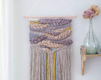 Large Wall Hangings Alluring Large Wall Hanging  Etsy Review
