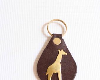Beaded keychain - Maasai jewelry - Beads keychain - Leather keychain - African jewelry - Kenyan jewelry - Maasai keychain - African keychain