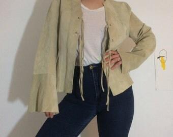 Vintage Cofi Leather Suede Jacket