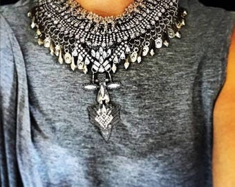 ÁGUILA - luxe statement collar necklace