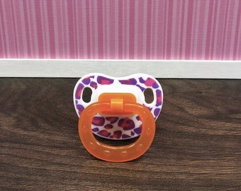 Reborn Baby Magnetic Pacifier or Putty Reborn Pacifier Reborn Dummy Reborn Accessories for a Girl, Baby Doll Pacifiers, Reborn Baby Girl