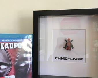 Deadpool Minifigure Shadowbox