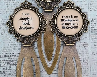 Bookish Quotes Bookmarks (3)