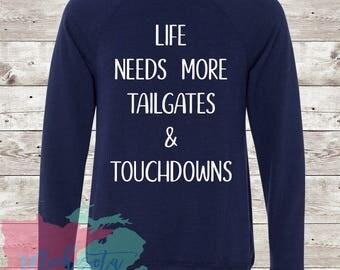Tailgates & Touchdowns Crewneck