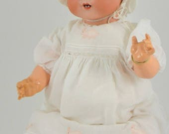 Large Armand Marseille 351 Bisque Head Dream Baby