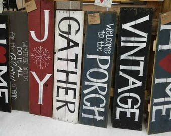Extra Large Rustic Sign