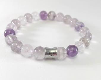 Super Seven Bracelet, Natural Crystal Bracelet, Minimalist Bracelet, Healing Crystal, Melody Stone, Yoga Crystal, Meditation Bracelet