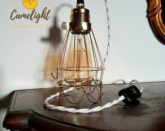 suspension industriel etsy. Black Bedroom Furniture Sets. Home Design Ideas