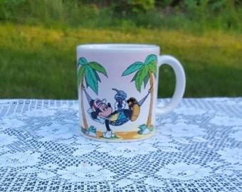 Vintage Circa 1986 Mickey Mouse  coffee mug