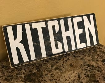 kitchen sign, rustic kitchen, kitchen decor
