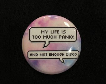 Panic! at the disco Button