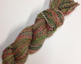 Handspun Everything yarn, 145 yards