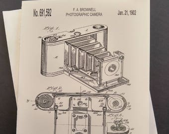 Kodak Camera Greeting Card
