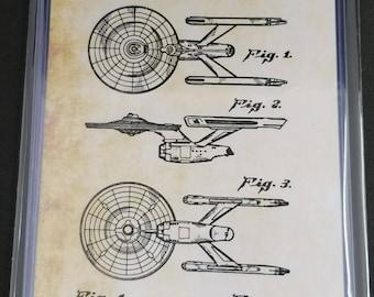 Star Trek Patent Art Prints Set