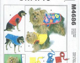 McCalls 4686 - Dog Coats & Accessories