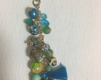 Beaded Camel Bag Charm