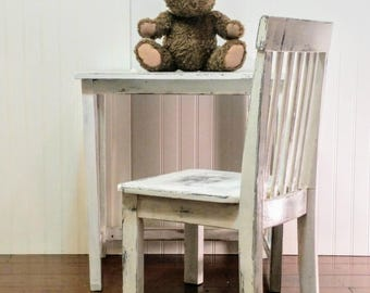 Sweet Child's Table & Chair