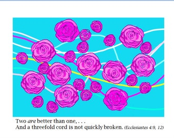 Threefold Cord (Roses n Ribbons)