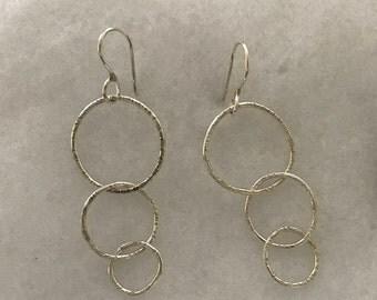 3 Circles Earrings