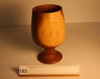 Black Walnut goblet