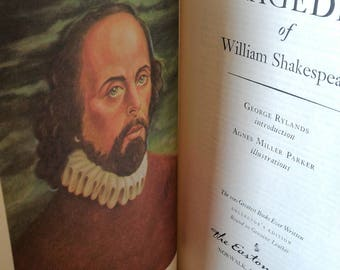 Shakespeare - The Tragedies - leather-bound collector's edition
