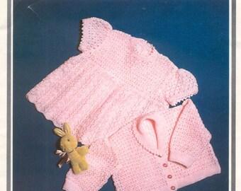 Vintage crochet pattern poppleton 1606