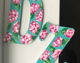 Lilly Pulitzer Sorority Letters (3)