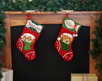 Personalised Pet Christmas Stockings
