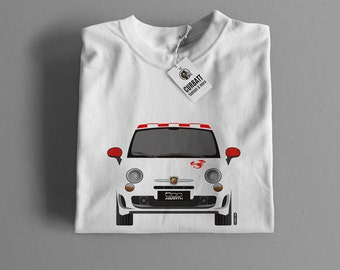 T-shirt Abarth 500 Cinquecento Scorpion | Gent, Lady and Kids | all the sizes | worldwide shipments | Car Auto Voiture