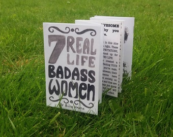 Bad Ass Women | Concertina Zine