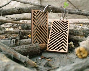 Rectangular Native Wood Ring