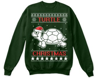 Turtle shirt, turtle sweatshirt, turtle sweater, turtle ugly shirt, turtle christmas shirt, turtle christmas gifts, turtle lover shirt funny