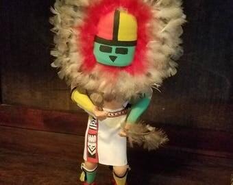 Sunface Kachina doll