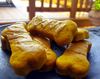 Gourmet Dog Treats: Pumpkin & Peanut Butter
