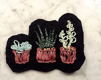 Succulent Badge
