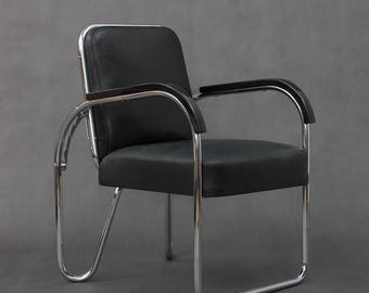 Bauhaus foldable armchair from 30s