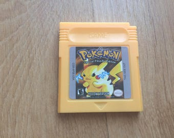 Pokemon yellow Edition Game Boy Color