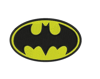 BATMAN Embroidery Design - instant download 4 sizes