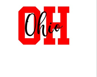 Ohio SVG/PNG/DXF