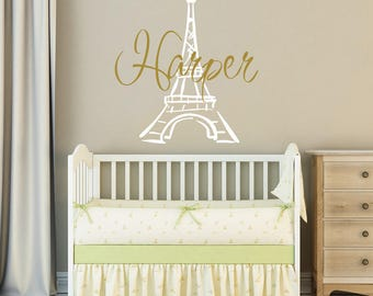 Eiffel Tower Wall Decor eiffel tower wall | etsy